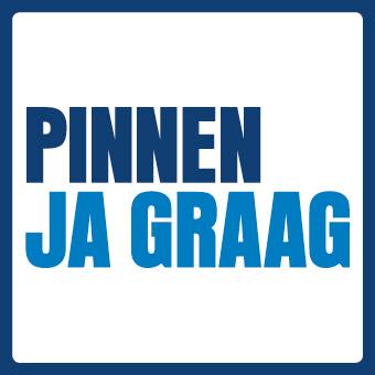 Logo van betaalmethode PIN