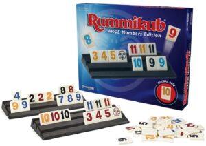 Rummikub grootletter en braille