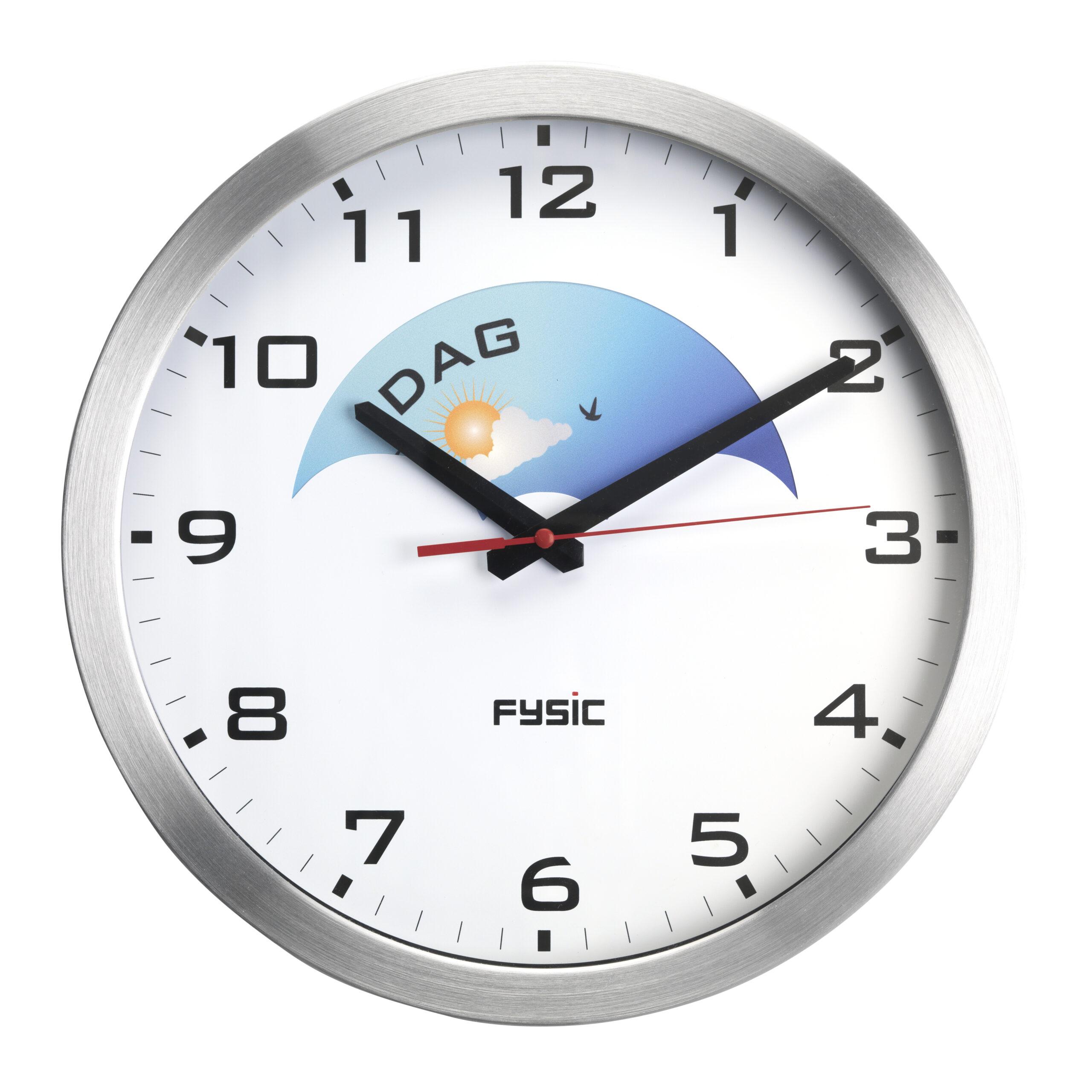 Fysic FK150 analoge dementieklok