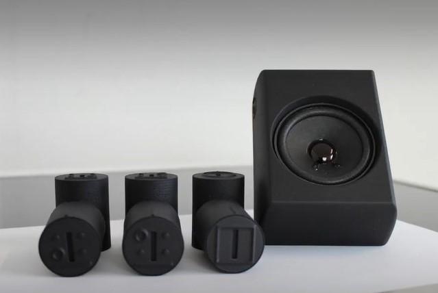 Feelware audio spraakuitvoer
